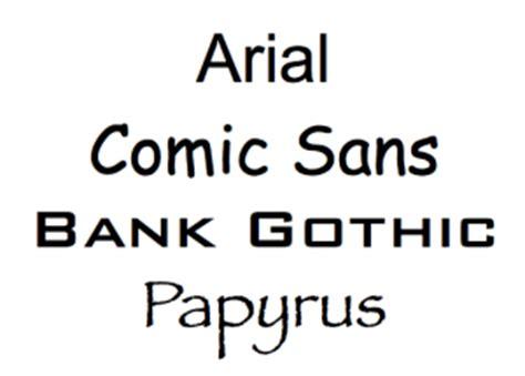 Good sans serif resume font